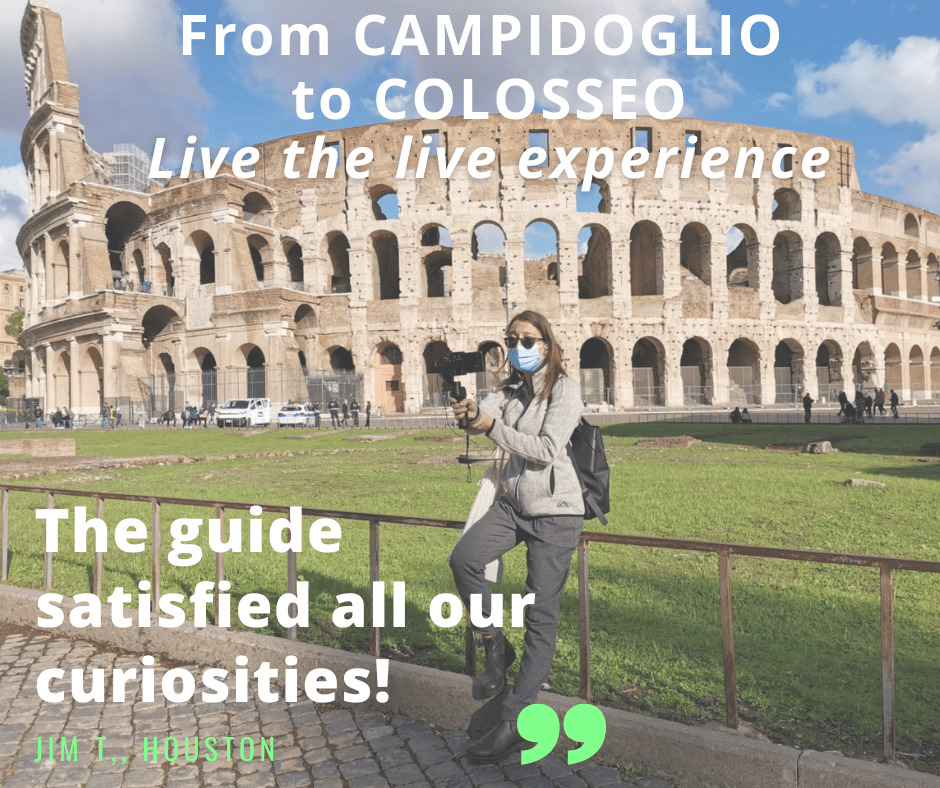 from campidoglio to colosseo virtual walk