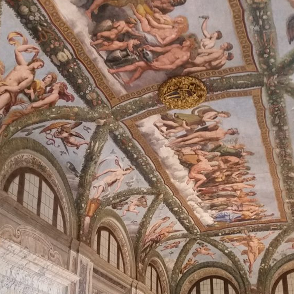 lodge of psiche fresco by raphael villa farnesina joy of rome