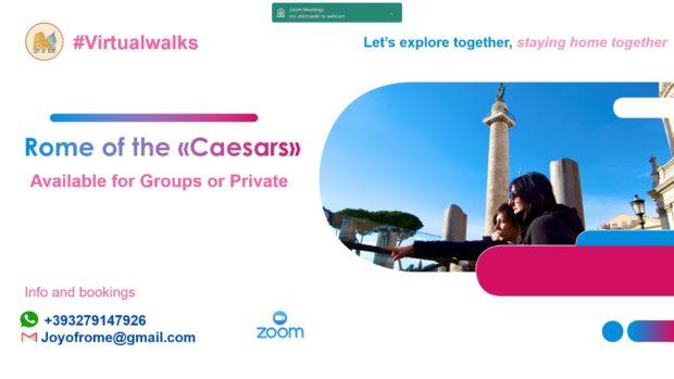 rome of the caesars virtual walk joy of rome