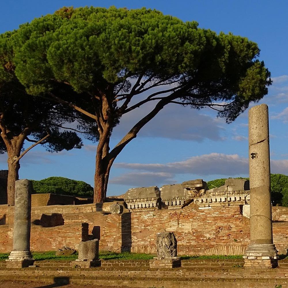 Ancient Ostia, photo by neufal54, Pixabay