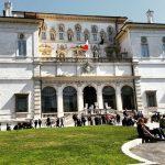 Borghese Gallery's entrance