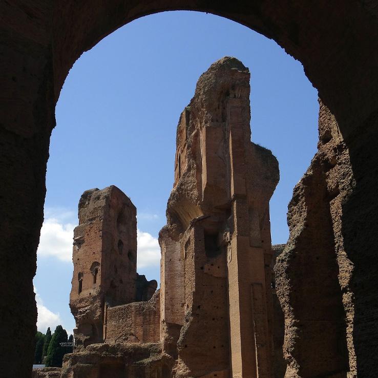 Caracalla Baths Walking Tour