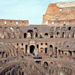 Colosseum underground and third tierd Tour, the Arena view
