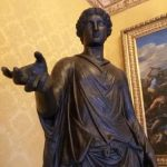 Detail of a Bronze Statue, Capitoline Museums