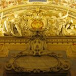 Detail of the Pope's crest, Gallery of Maps, Vatican Museums
