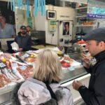 Eating in Testaccio Food Tour, il pesce fresco