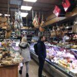 Eating in Testaccio Food Tour, la salumeria