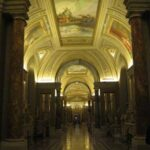 Gallery of Candelabra by night, Vatican Museums
