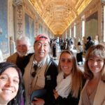 Gallery of Maps at Vatican Museums with Francesca
