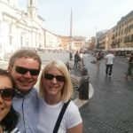 Highlights of Rome, in Piazza Navona with Francesca