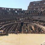 Impressive perspective inside the Colosseum