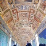 In the Gallery of Maps inside the Vatican Museums