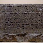Inscription collegium tibicinum