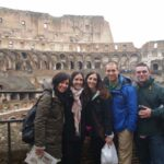 Inside the Colosseum during an Ancient Rome Tour short and fast