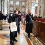Inside the St. Peter's Basilica