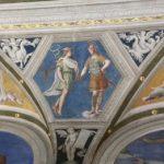 Loggia di Galatea, Villa Farnesina, Oroscopo di Agostino, Baldassarre Peruzzi