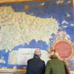 Map of Sicily, Gallery of Maps, Vatican Museums