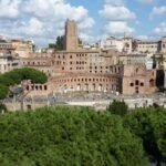 Roman Forum, view of the Trajan markets