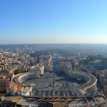 St Peter's Square from the sky