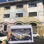 Street art tour in Rome, Blu, Ostiense District