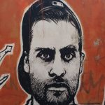 Street art tour in Rome, JB Rock, Ostiense