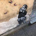 Street art tour in Rome, jeff Aerosol, via dell'Acqua Bullicante