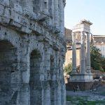Teatro di Marcello e Tempio di Apollo Sosiano al ghetto ebraico di Roma. Jewish Ghetto guided tour in Rome