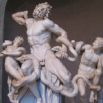 The Lacoonte in the Vatican Museums