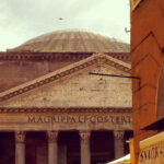The Pantheon from a different perspective