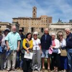 The Roman Forum with a small group