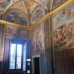 The famous Galatea by Raphael in the Villa Farnesina. La famosa Galatea di Raffaello, Villa Farnesina