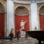 The round Room in the Vatican Museums