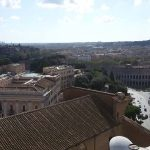 Tour of the Jewish District Rome, view with the Theatre of Marcello