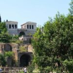 View of the Palatine Hill from the Roman Forum