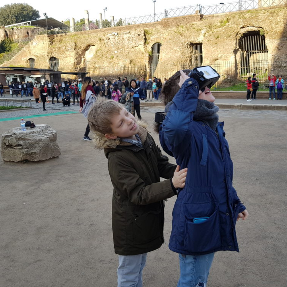 ancient rome virtual reality tours