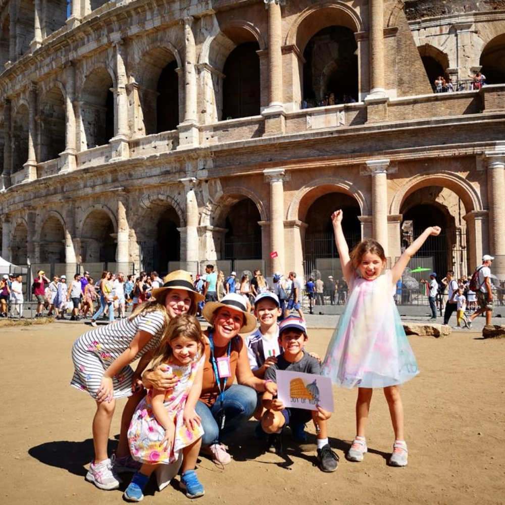 colosseum and ancient rome for kids